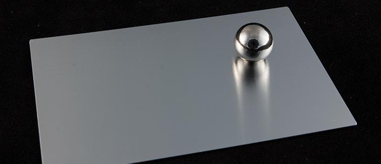 Матовый анодированный алюминий ALANOD 1100G
