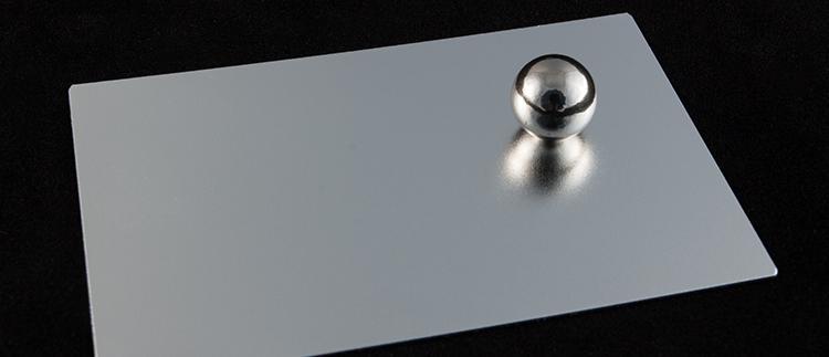 Матовый анодированный алюминий ALANOD MIRO 20 2000GP