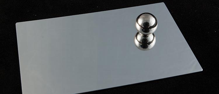 Зеркальный анодированный алюминий ALANOD 350G